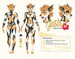 Jastra Fur Pattern Guide by Acaciathorn