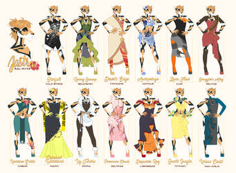 Bothan Fashion Extravaganza by Acaciathorn