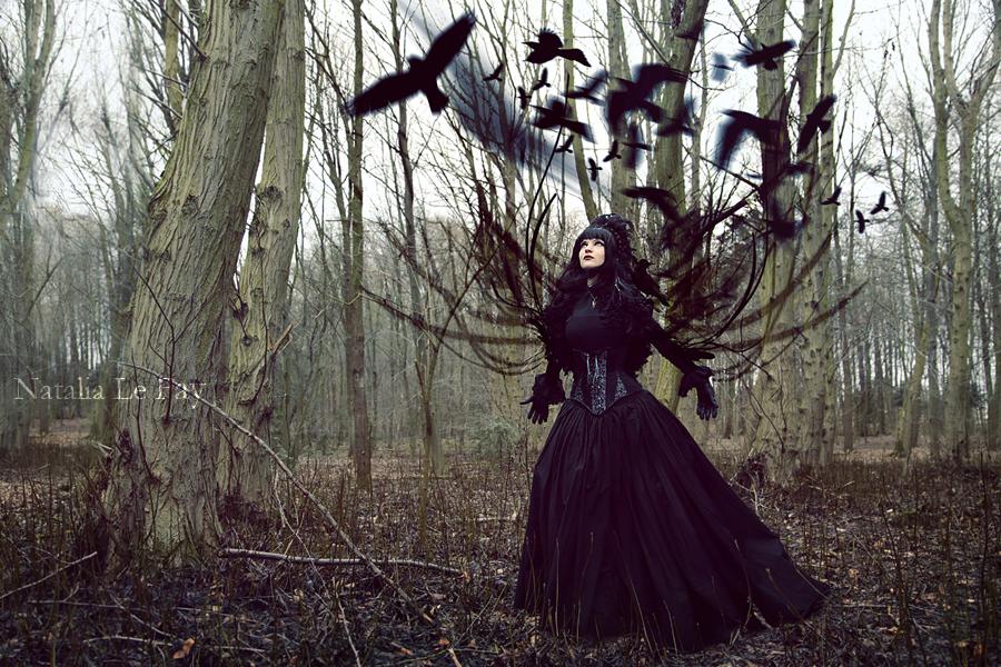Morrigan - The Crow Queen by NataliaLeFay