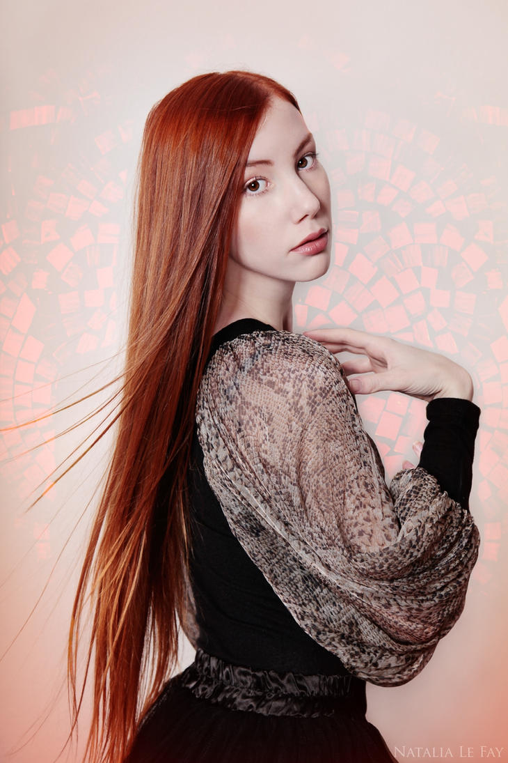 Natural Red Beauty II by NataliaLeFay