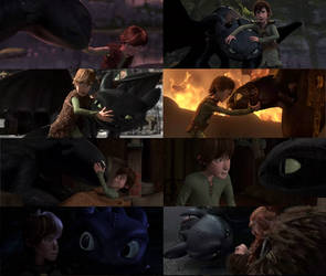 hiccup and toothless by deviant5898