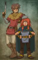 A Thief and a Dwarf by Katie-W