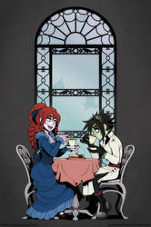 Tea Time by Katie-W