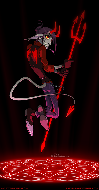 Devil made me do it... by Katie-W