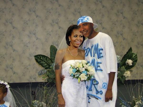 Barack Obama's Big Ghetto Wedding by FireCrotch174 on ...