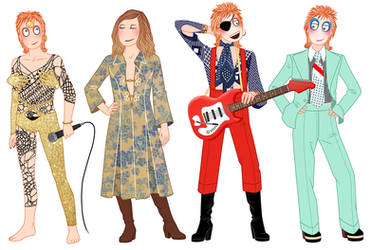 The many faces of David Bowie - 1947-2016