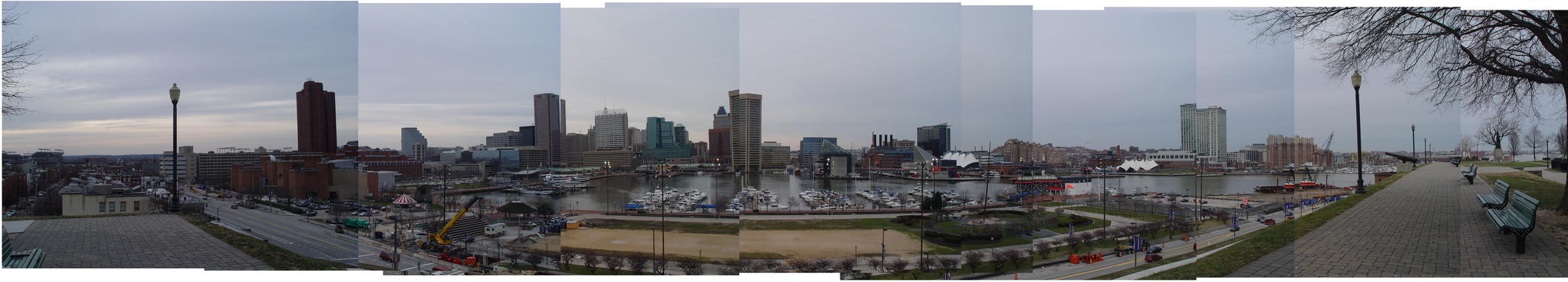 panorama from Federal Hill by IneptSleep