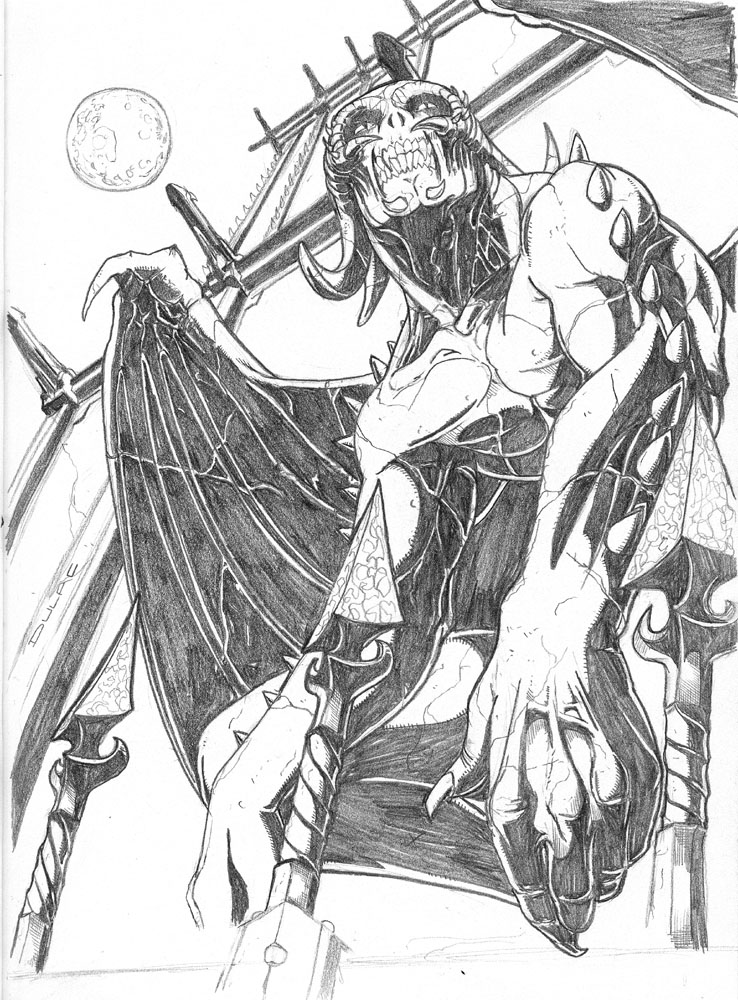 Gargoyle by Magnuson24