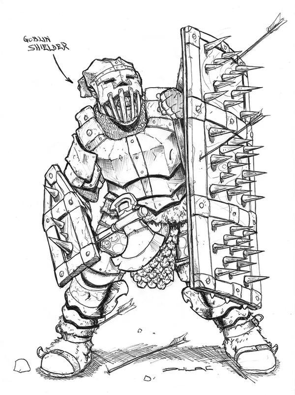 Goblin Shielder by Magnuson24