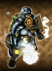 Drune Ironfist colored by Magnuson24