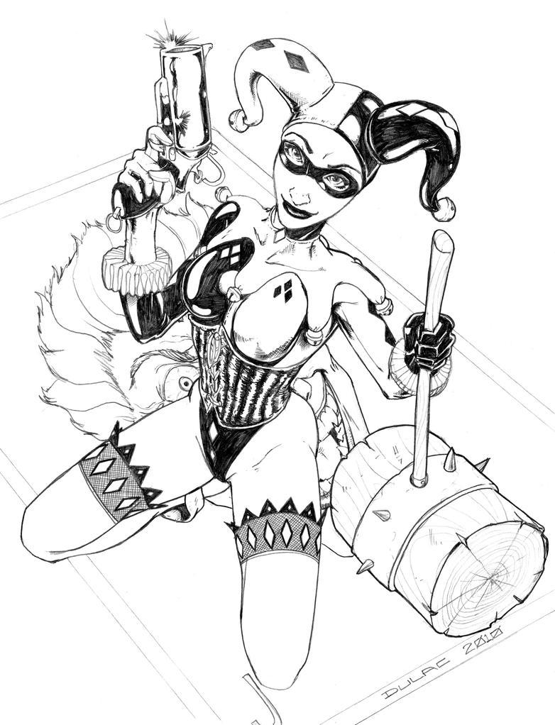Harley Quinn by Magnuson24