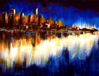 Cityglow by CanadianMaple09