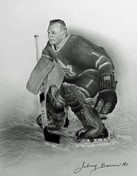 Johnny Bower by CanadianMaple09