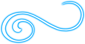 Blue Swirl PNG
