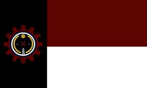 Texan National Strasserite Social Republic Flag