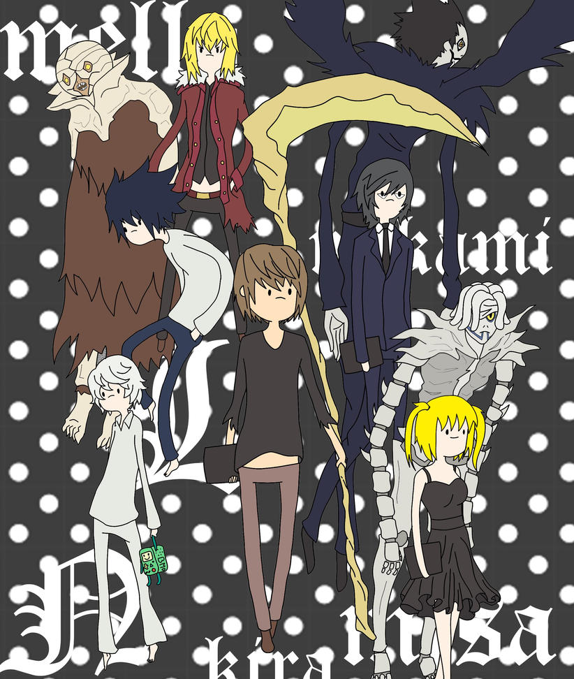 Death Note - Adventure Time Style by RonyeryX