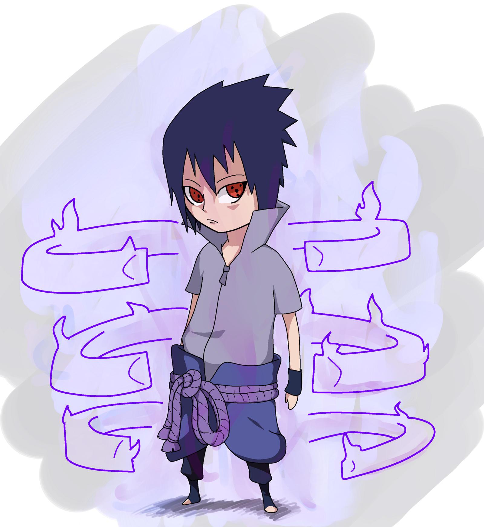 Chibi Sasuke Susanoo by RonyeryX on DeviantArt