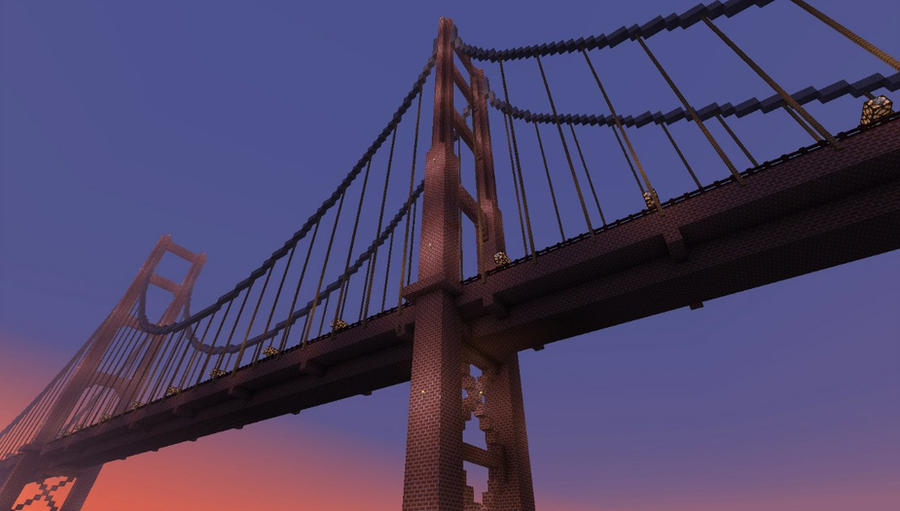 Golden Gate Bridge In Minecraft By Zetoris ...