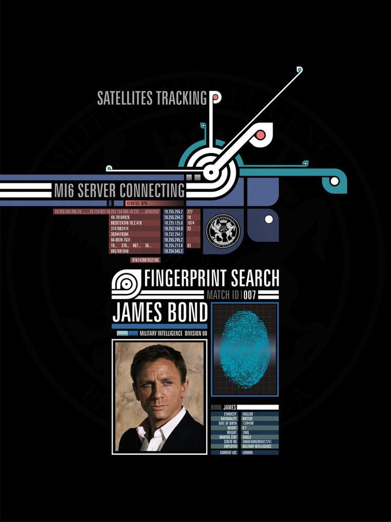 James Bond fingerprint detecting by JAMES-MI6