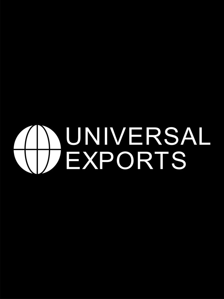 Universal Exports logo by JAMES-MI6