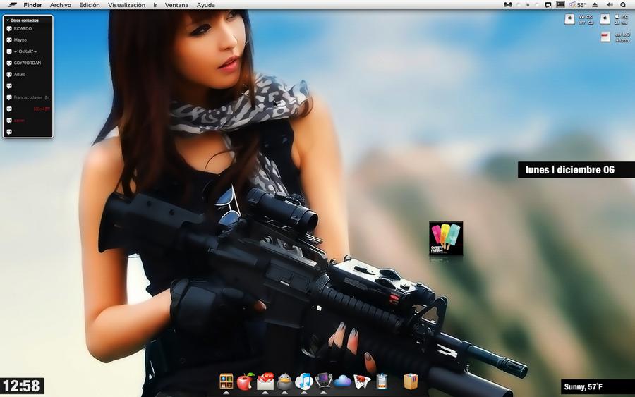 картинки девушек с оружием красивые