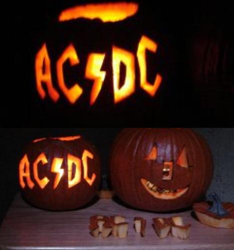 Ac dc pumpkin by chompypuppy on deviantart