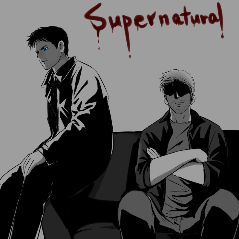 Lucifer Gabriel: SPN : Lucifer, Castiel 27 By Ne2nyeon On DeviantArt