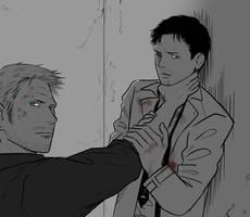 SPN : Lucifer, Castiel 37 by ne2nyeon