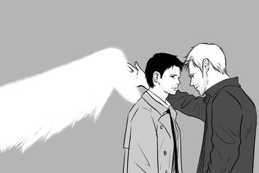 SPN : Lucifer, Castiel 39