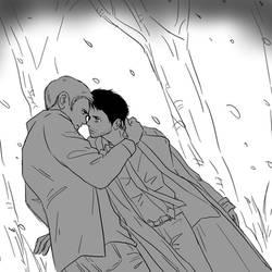 SPN : Dean, Castiel 6