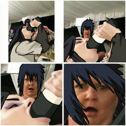 Shocked Sasuke-kun
