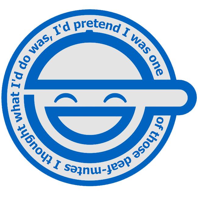 laughing man logo - photo #12