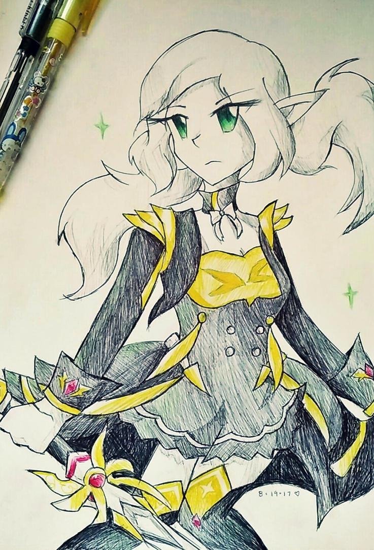 Velder Academy Knight ~ by cyndaquilgirl