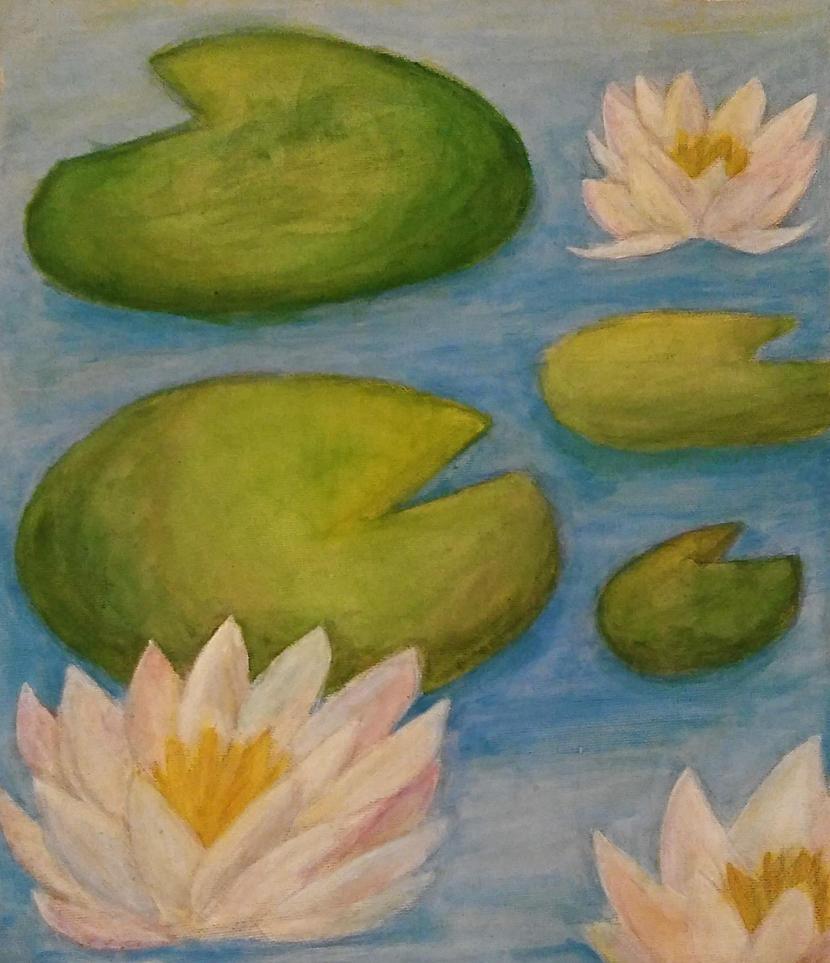 Lilypads by cyndaquilgirl