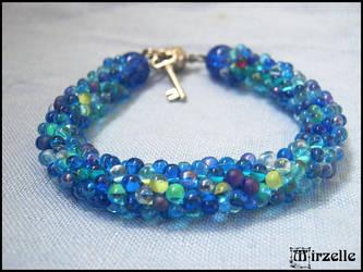 Bracelet Blue Bubbles