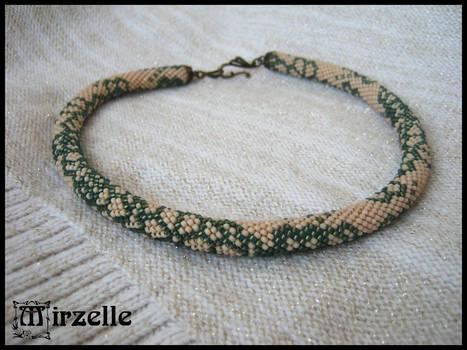 Necklace Vintage Flowers