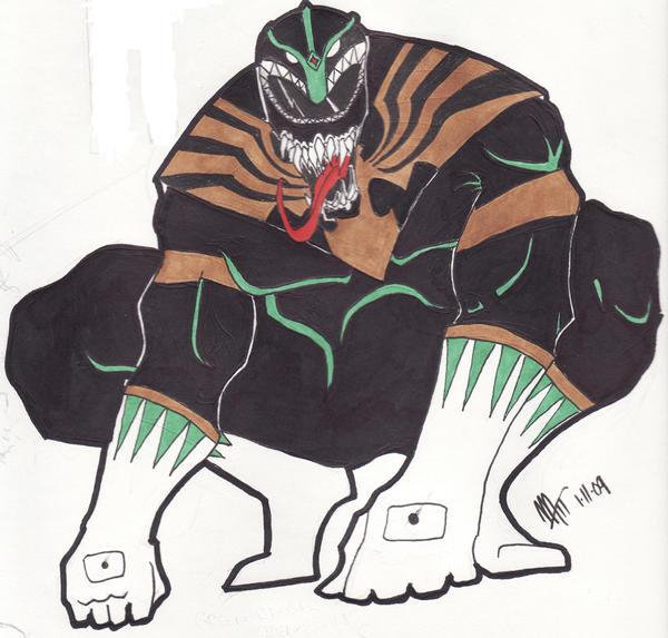 Venom-ranger by spyder8108
