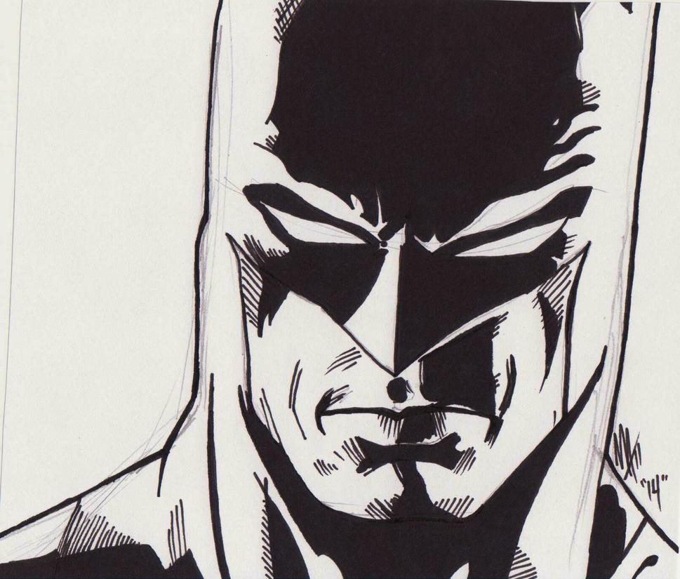 Rough Batman Sketch By Spyder8108 On DeviantArt