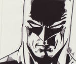 Rough Batman Sketch