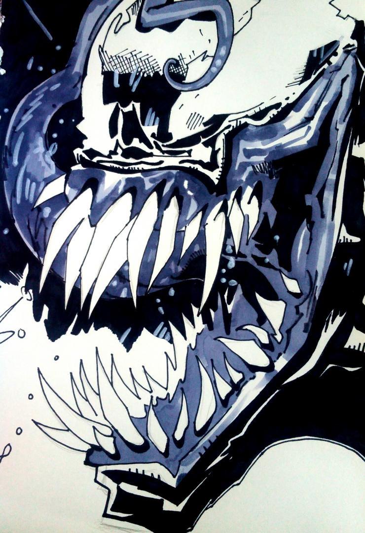 Ryan Ottley Venom  by spyder8108