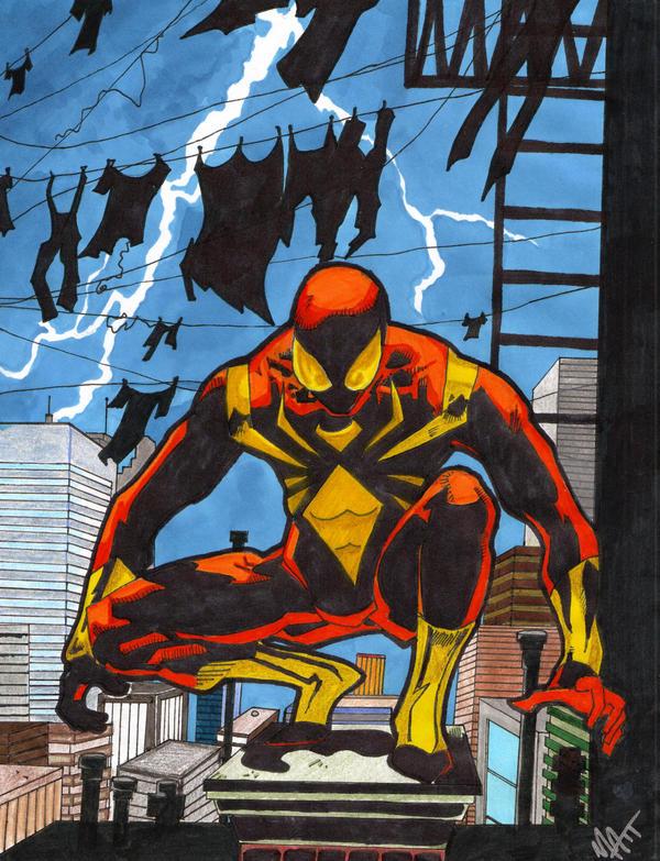 Iron spider by spyder8108