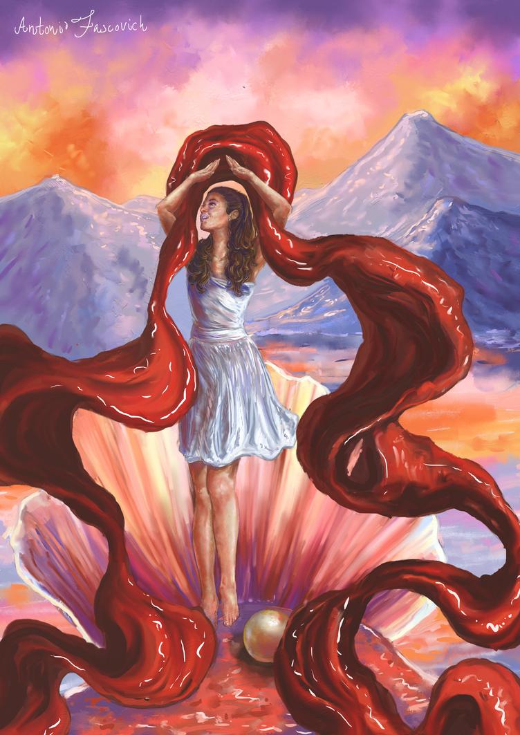 Goddess Of Colour by vssertse