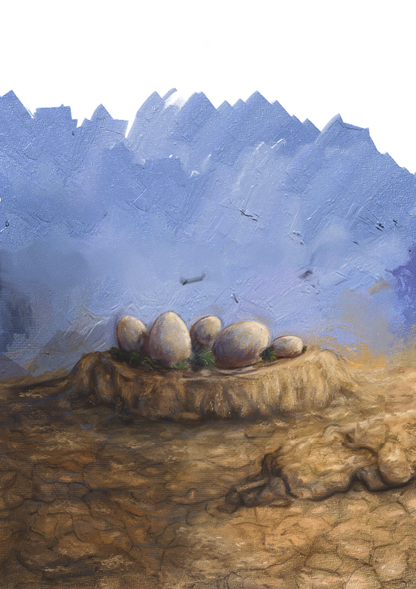 Dinosaur's Eggs. by vssertse
