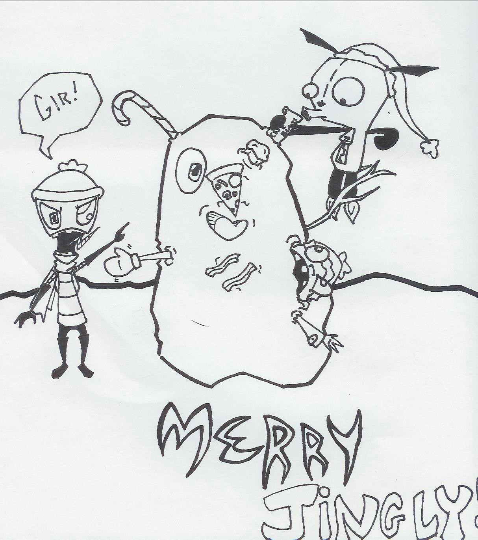 Gir's Snowman by Apatha7