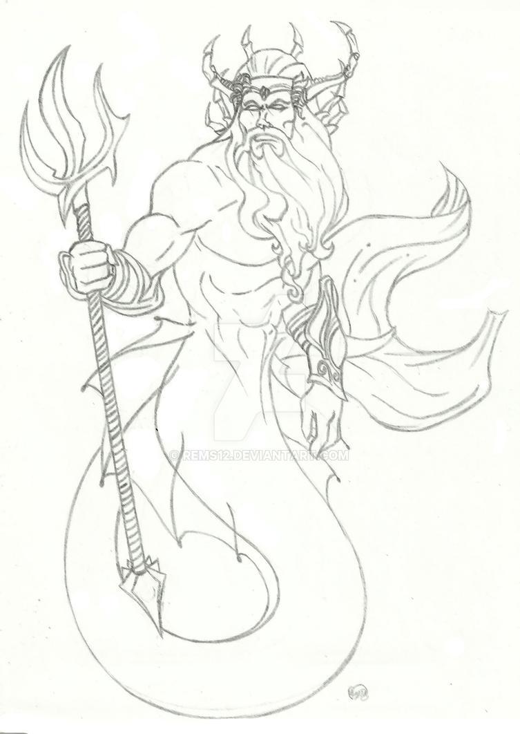 King Triton by Rems12