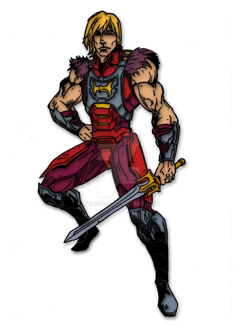 DC Comics MOTU: He-Man by Rems12