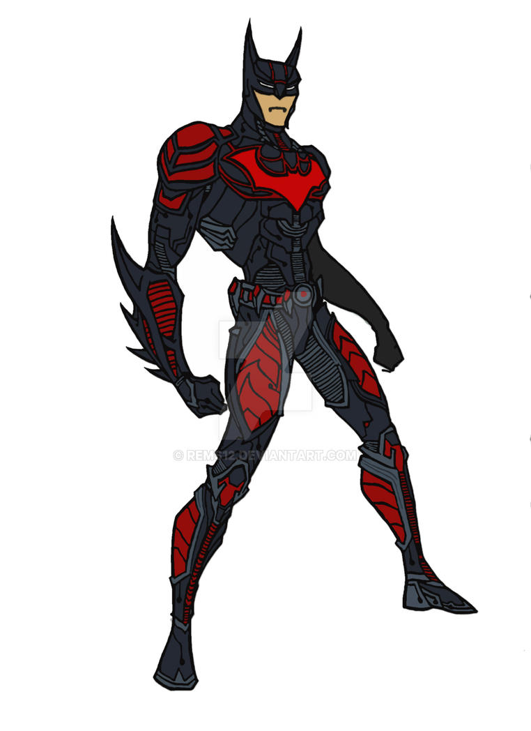 Original Concept: Batman Beyond by Rems12 on DeviantArt