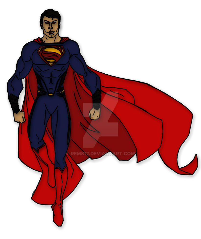 Man of Steel: Superman by Rems12