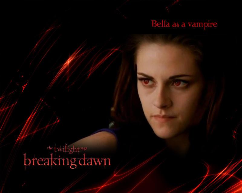 bella cullen as a vampire in bd2 kristen stewart by