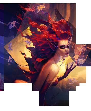 Mermaid by Khirono